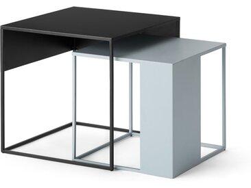 MADE Essentials Emira Laptop-Tisch, Schwarz