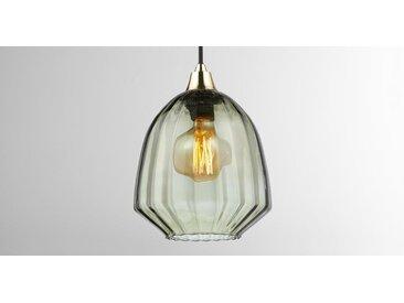 Como Lampenschirm, Glas in Salbeigruen