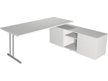 START UP Schreibtisch mit Sideboard, 180x80cm