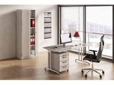 EXPRESS B-Serie Büromöbel Set, 1 Arbeitsplatz, 250x250cm