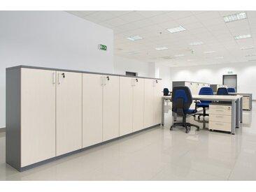 EXPERT Büromöbel Set, Doppelarbeitsplatz, 485x215cm