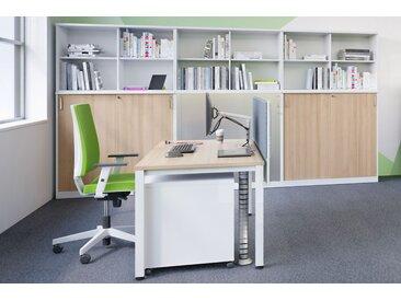 EXPERT Büromöbel Set, Einzelarbeitsplatz, 360x300cm