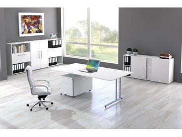 START UP Büromöbel Set, 1 Arbeitsplatz 350x400