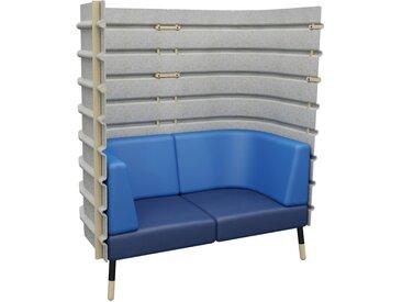 TEPEE 2-Sitzer Sofa mit Paneel