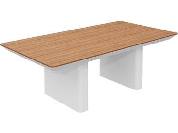 RANGE Konferenztisch mit Wangengestell, b220xt120xh75cm