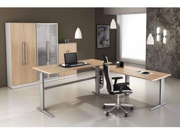 EXPRESS XE- und XS-Serie Büromöbel Set, 1 Arbeitsplatz, 250x350cm