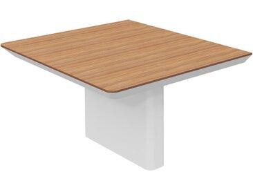 RANGE Konferenztisch-Außenmodul mit Wangengestell, b120xt140xh75cm