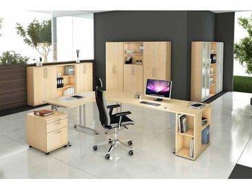 EXPRESS B-Serie Büromöbel Set, 1 Arbeitsplatz, 500x400cm