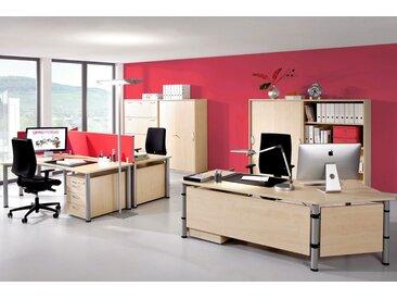 GERAMÖBEL Büromöbel Set, 3 Arbeitsplätze, 500x500cm