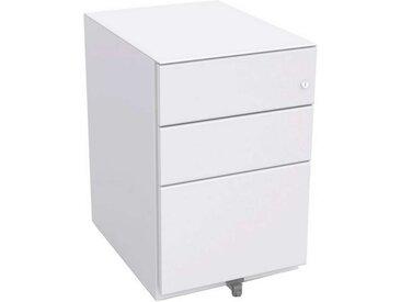 BISLEY OBA Rollcontainer 100% Auszug, 2 Schubladen 15cm, 1 HR-Schublade, 77cm tief