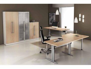 EXPRESS XE- und XS-Serie Büromöbel Set, 1 Arbeitsplatz, 250x400cm