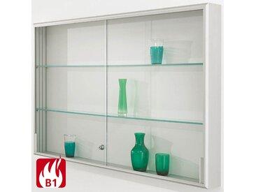 INTRO Brandschutz-Wandvitrine mit Schiebetüren b200xt14xh100cm