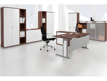 GERAMÖBEL Büromöbel Set, Einzelarbeitsplatz, 480x320cm