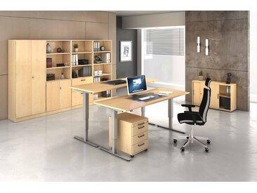 EXPRESS XMST-Serie Büromöbel Set, 2 Arbeitsplätze, 350x350cm