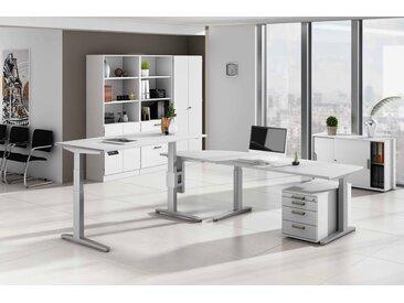 EXPRESS XBHM-Serie Büromöbel Set, 1 Arbeitsplatz, 400x400cm