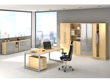 EXPRESS R-Serie Büromöbel Set, 1 Arbeitsplatz, 350x350cm