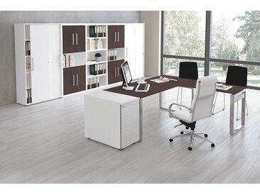 FORM 5 Büromöbel Set, 1 Arbeitsplatz 450x500