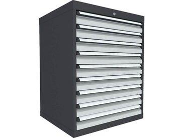 C+P Schubladenschrank mit 9 Schubladen, b80xt69xh100cm