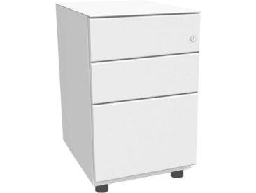 BISLEY OBA Standcontainer 80% Auszug, 2 Schublade 15cm, 2 HR-Schubladen 77cm tief