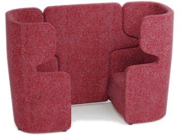 BISLEY VIVO 2 gegenüberliegende Sessel mit hoher Rückenlehne