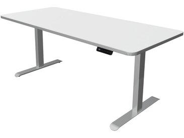 MOVE PREMIUM Steh-Sitz-Schreibtisch mit C-Fuß-Gestell, b180xt80xh72-121cm