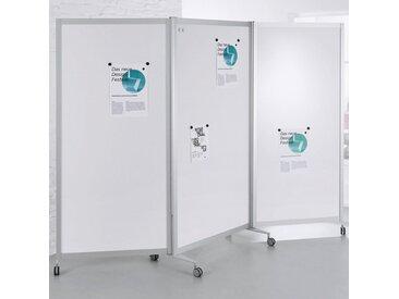 SCREEN-INTRO Mobile Faltstellwand, 3-teilig, b100(280)xt45xh190cm