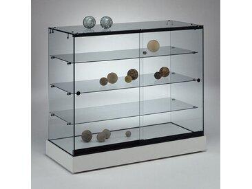 POLARIS Thekenvitrine mit Schiebetüren b104xt46xh92cm