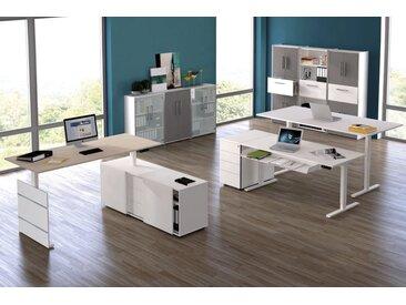 MOVE 3 Büromöbel Set, 3 Arbeitsplätze 650x450cm
