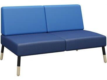 TEPEE 2-Sitzer Sofa zur Verbindung und freistehend