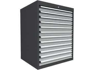C+P Schubladenschrank mit 12 Schubladen, b80xt69xh100cm