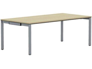WORK Konferenztisch, rechteckig, 100cm tief