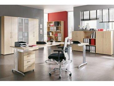 EXPRESS B-Serie Büromöbel Set, 1 Arbeitsplatz, 400x400cm