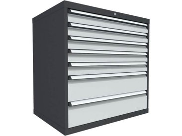 C+P Schubladenschrank mit 7 Schubladen, b100xt69xh100cm