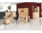 EXPRESS B-Serie Büromöbel Set, 1 Arbeitsplatz, 400x500cm