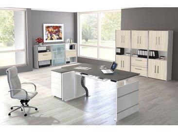 MOVE 3 Büromöbel Set, 1 Arbeitsplatz 450x400cm