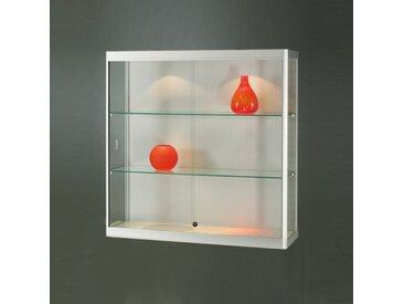 MPC Wandvitrine mit Schiebetüren und LED-Beleuchtung, b100xt30xh100cm