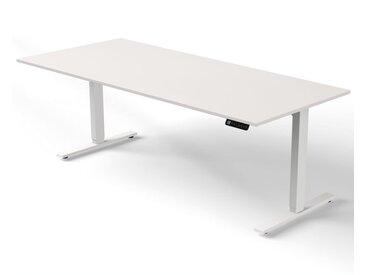 MOVE 3 Steh-Sitz-Schreibtisch mit C-Fuß-Gestell, b180xt100xh72-120cm