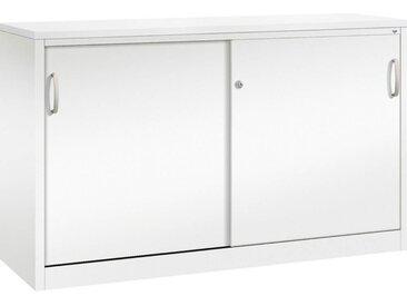 C+P Beistellschränke mit Stahl-Schiebetüren, b160xt50xh100cm