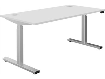 SPEED Steh-Sitz-Schreibtisch, rechteckig, b160/180xt80xh65-131cm