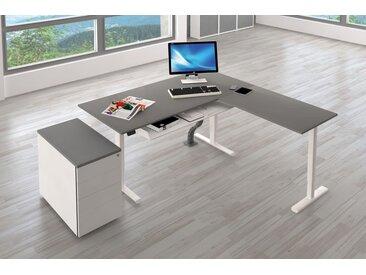 MOVE 3 Büromöbel Set, 1 Arbeitsplatz 250x250cm