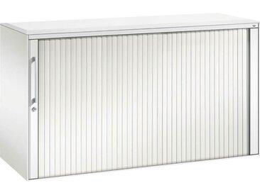 C+P Rollladenschrank mit Akustik- Rollladen, b120xt43xh163cm