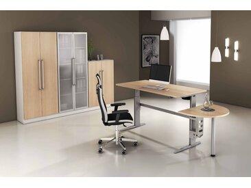 EXPRESS XE-Serie Büromöbel Set, 1 Arbeitsplatz, 250x350cm