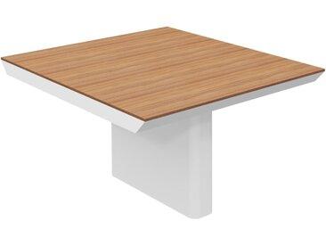 RANGE Konferenztisch-Innenmodul mit Wangengestell, b120xt140xh75cm