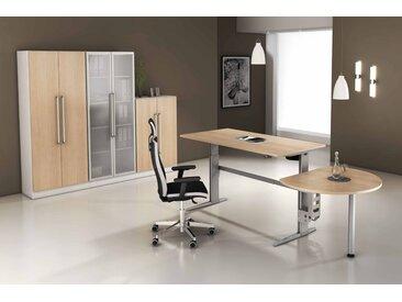 EXPRESS XE-Serie Büromöbel Set, 1 Arbeitsplatz, 250x375cm
