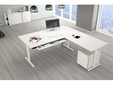 MOVE 3 Büromöbel Set, 1 Arbeitsplatz 250x200cm
