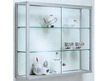 NICE Wandvitrine mit Schiebetüren b60-100xt20xh80cm