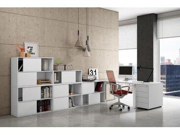 FRESH Büromöbel Set, 1 Arbeitsplatz, 200x400cm