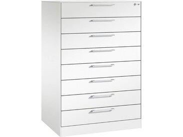 C+P Schubladenschrank mit 8 Schubladen, b80xt60xh130cm