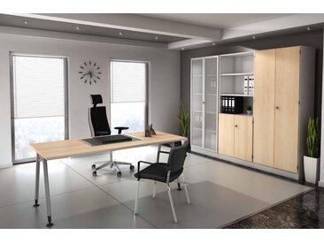 EXPRESS A-Serie Büromöbel Set, 1 Arbeitsplatz, 300x250cm