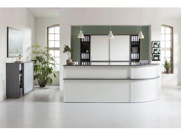 EXPERT/VELUM Büromöbel Set, Doppelarbeitsplatz, 450x300cm